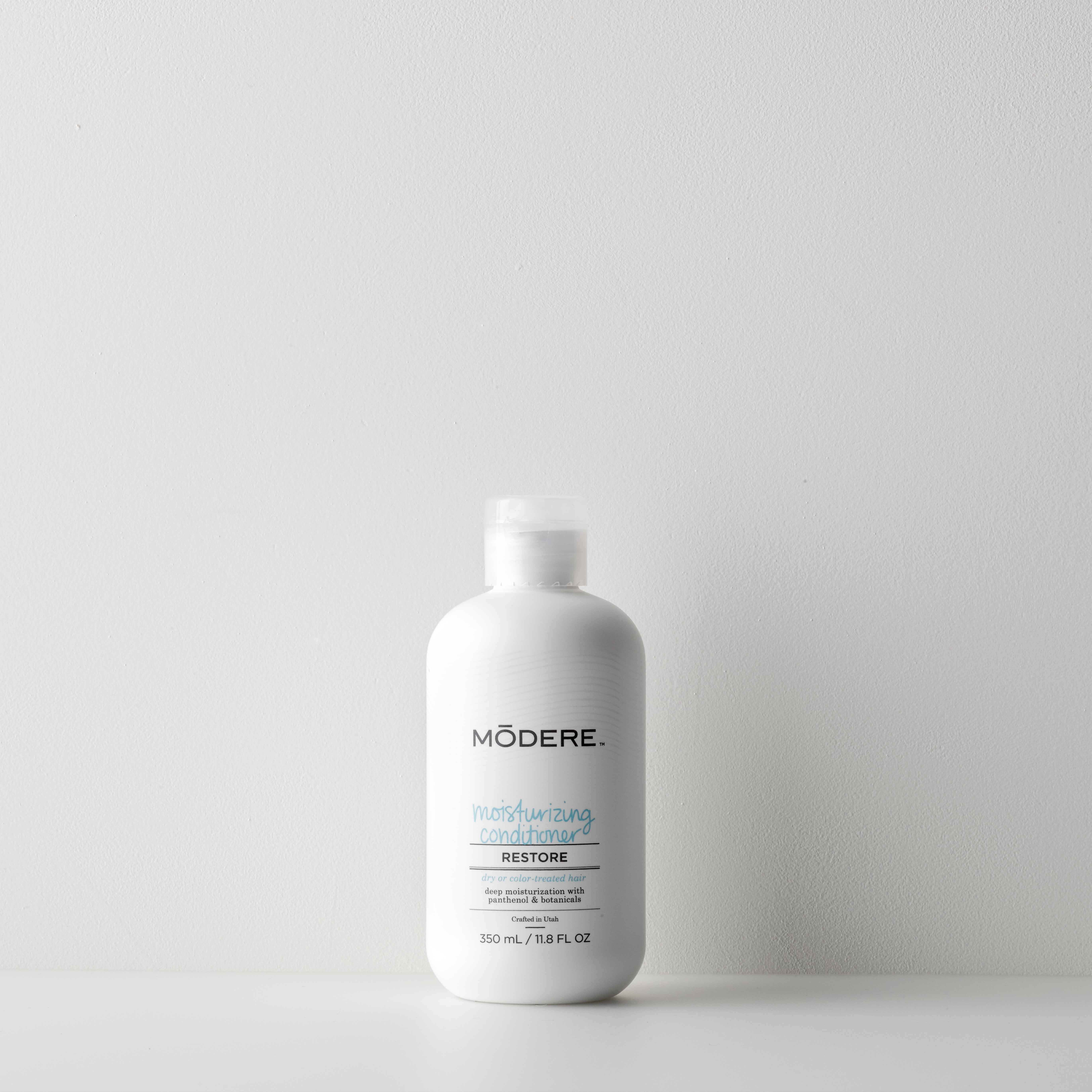 Hair care conditioner  on a table top with soft lighting